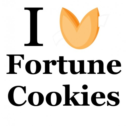 I Heart Fortune Cookie T-Shirt